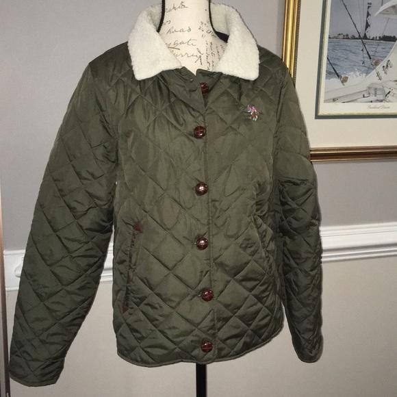 Us Polo Assn Jackets Coats Polo Ralph Lauren Padded Bomber